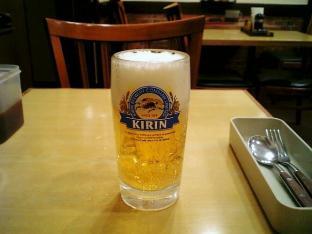 ビフテキ家あずま新宿ビール中003