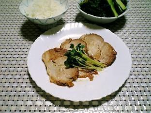 煮豚とご飯001