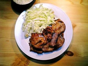 豚ロースの味噌漬け焼き002