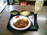 山田ホームレストラン本日の定食Cハヤシライス004