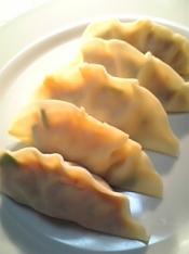豚キムチ餃子定食003