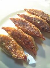 豚キムチ餃子定食004