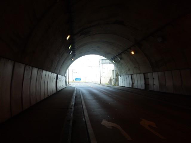 秋谷側トンネル