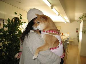 ママ抱っこぉ~
