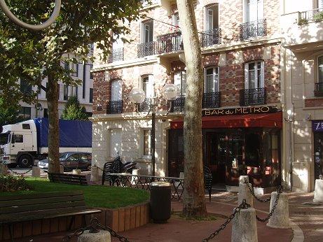 アナトールフランスのカフェdownsize