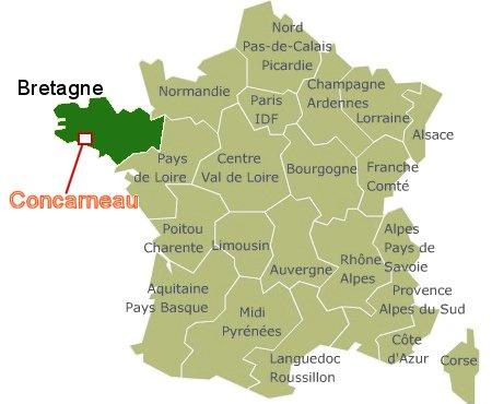 Concarneau地図jpg