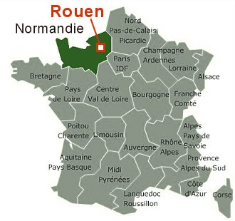 ルーアンの地図