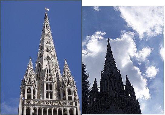 複合大聖堂の尖塔