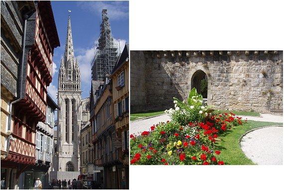 複合大聖堂と花壇