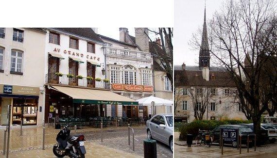 複合雨の広場と尖塔