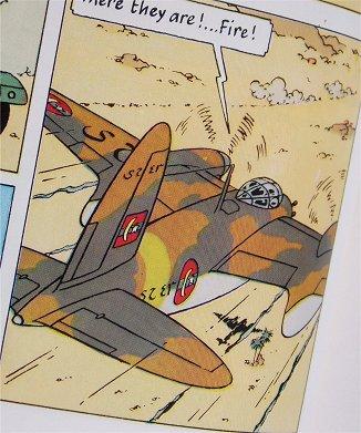 Mosquito FBVIらしき機体、機銃配置が違うけど