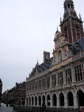 Leuven風格ある大学図書館downsize
