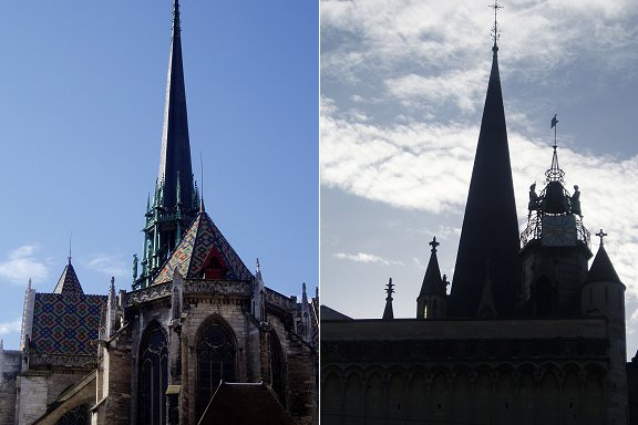 複合教会の尖塔