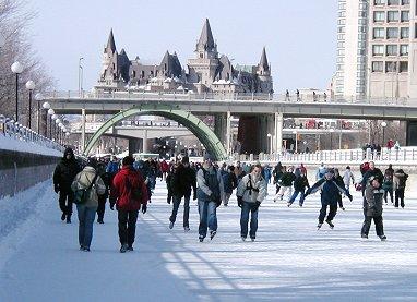 川がアイススケートリンクになりますREVdownsize