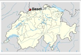 Basel地図