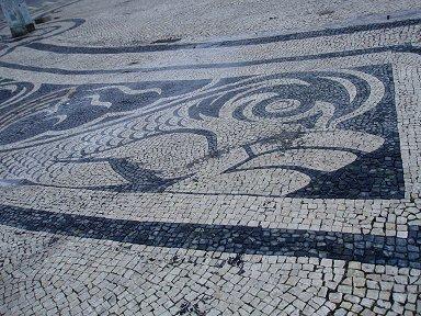 コメルシオ広場のイルカのモザイクdownsize