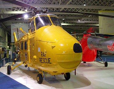 RAF Museumの救難ヘリ ウエストランドWhirwind REVdownsize