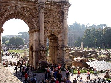 セプティミウス セウェルスの凱旋門Arcus Septimii Severi downsize