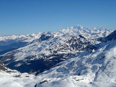 360度パノラマのようなアルプスの峰々downsize