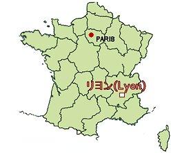 Lyon地図