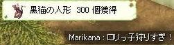 念願の300猫