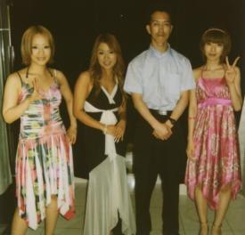 20070526広尾ディナーショー・メロン三人衆と私