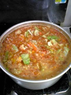 野菜スープ2