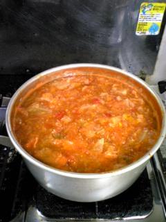 野菜スープ4
