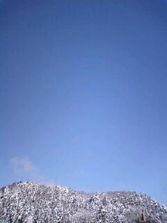 雪山青空100116_1055~0001