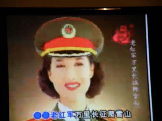 中国の軍歌番組2