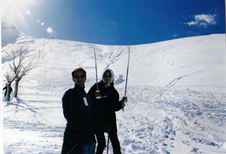 イラク・テヘラン・スキー