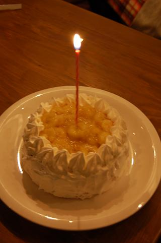 誕生日cake