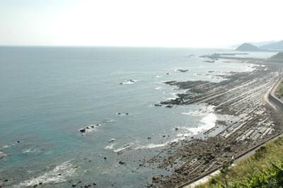 晴れた日の日南海岸