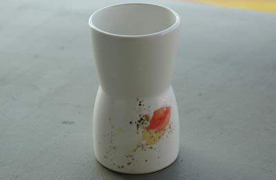 桜の焼酎グラス