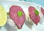 バジル寿司