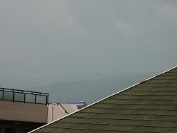 今朝の六甲山
