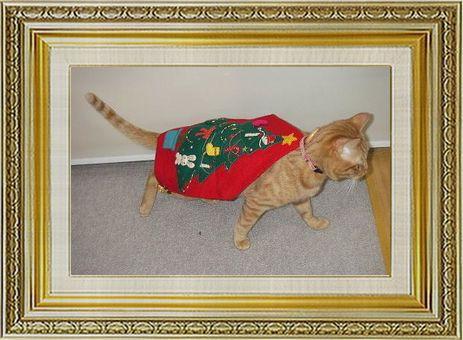 ねこ 猫 クリスマス祭り10okanさま家こつぶツリー