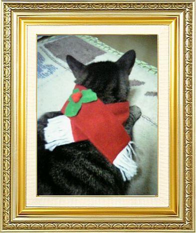 ねこ 猫 クリスマス祭り18女将さま家『クリスマス端午トナカイ』