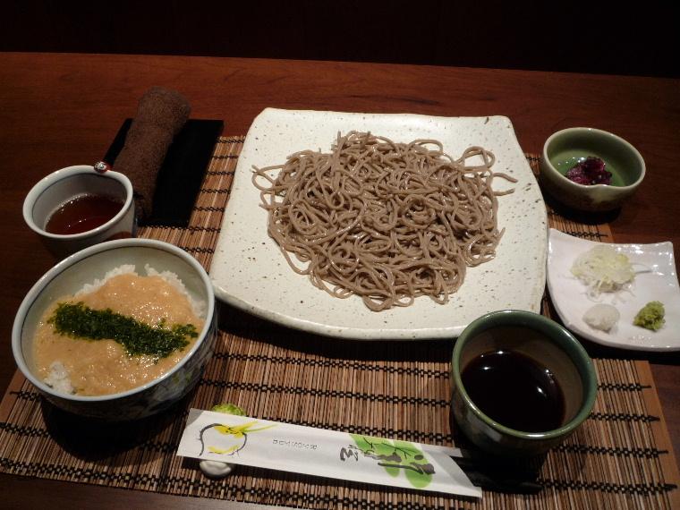 1.玄碾蕎麦RyoSyun (とろろ丼ともりそば)