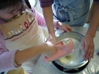 2009年 バースデーケーキ(生クリームづくり)