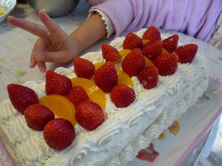 2009年 バースデーケーキ(完成)