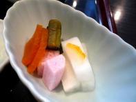 16.手打ち蕎麦 銀杏 (御新香)