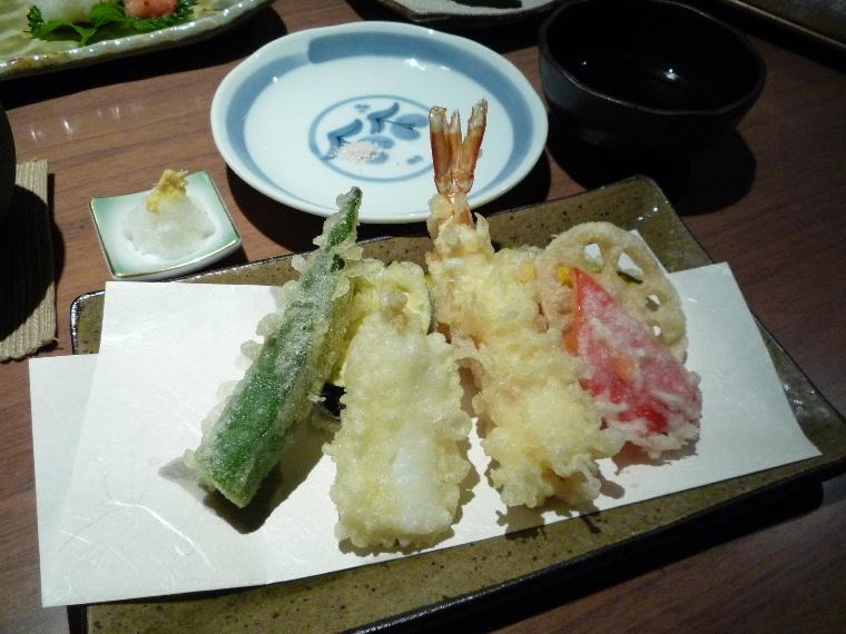 1.蕎肆 穂乃香 (天ぷら)