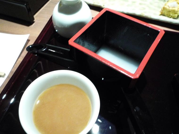 1.蕎肆 穂乃香 (そば湯)
