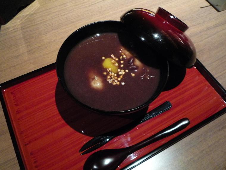 1.蕎肆 穂乃香 (そばがき汁粉)