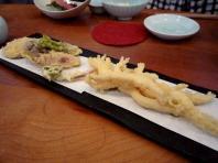 17.手打ち蕎麦 銀杏 (白魚の天ぷら)