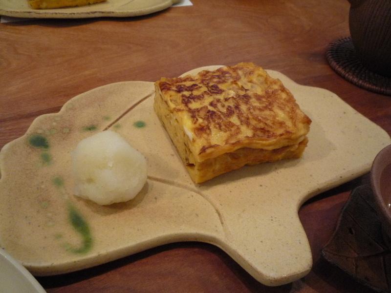 18.手打ち蕎麦 銀杏 (玉子焼き)