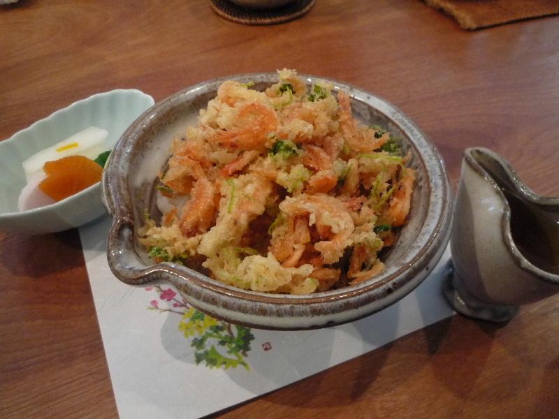 18.手打ち蕎麦 銀杏 (小柱の掻き揚げ丼)