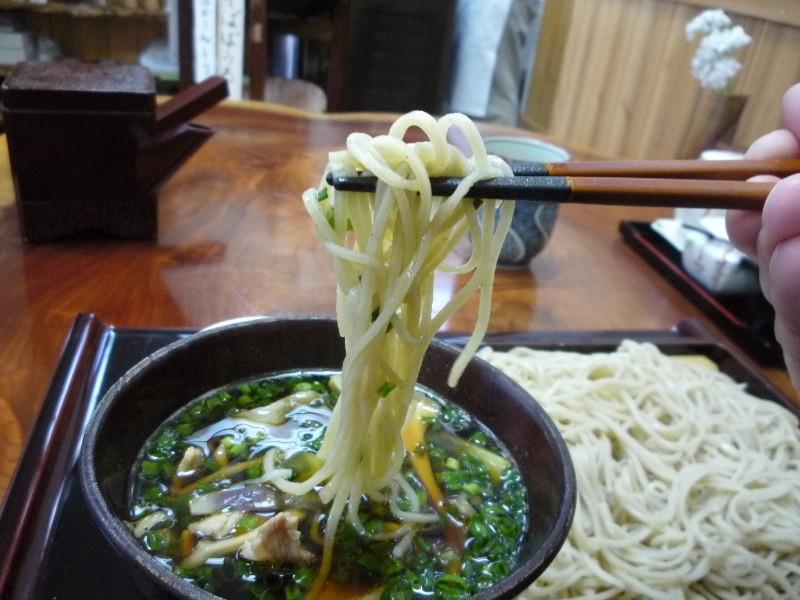 7.手打ち蕎麦 ふる川 (豚せいろ・辛味噌入り汁)