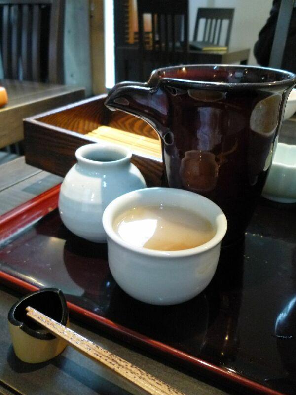 19.手打ち蕎麦 銀杏 (そば湯)